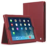 CaseCrown Bold Standby Case (Red) for iPad 4th Generation with Retina Display, iPad 3 & iPad 2 (Built-in magnet for sleep / wake feature)by CaseCrown