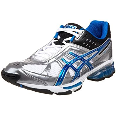 ASICS Men's GEL-Kushon TR Training Shoe,Metal/Blue/White,7 D US
