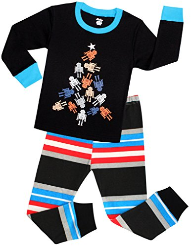Little Boys Pajamas Christmas Gift Children Robot PJs Size 5 Years (Robot 5t compare prices)