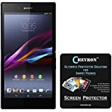 Chevron Front & Back Ultra Clear HD Screen Guard For Sony Xperia Z Ultra