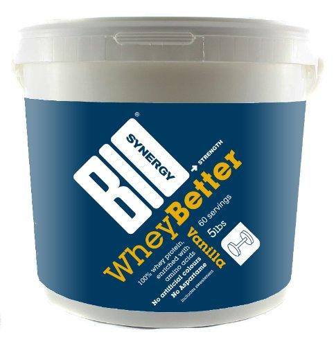 Bio-Synergy 100% Whey 2250 g Vanilla Protein Shake Powder