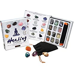 12 Healing Gemstones Gift Set