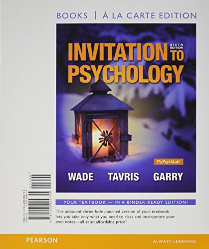 Invitation To Psychology 5Th Edition was perfect invitation sample