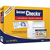 VersaCheck Instant Checks Form # 3001 Personal Wallet Check, Green Graduated,250 Sheets/750 Checks