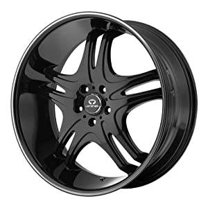 22×10 Lorenzo WL31 (Gloss Black) Wheels/Rims 5×115 (WL03122015318)
