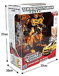 Hot Sale Deformation 18 Cm Bumblebee V Cool Optimus Prime Megatron Transformation Robot Action Figures (Bumblebee)