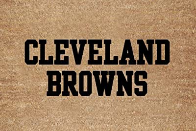 Cleveland Browns Flocked Door Mat