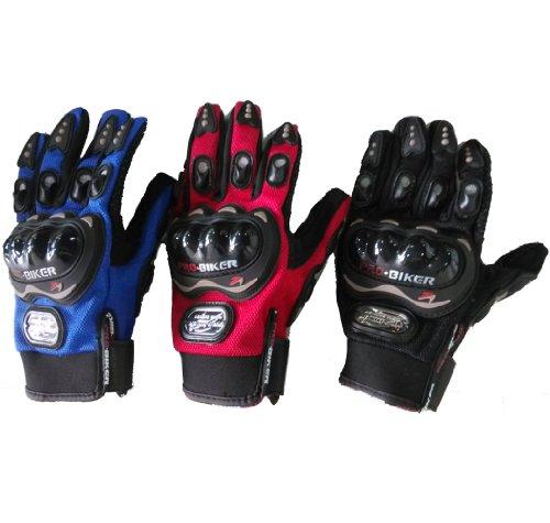 TCBunny-Carbon-Fiber-Pro-Biker-Bicycle-Motorcycle-Motorbike-Powersports-Racing-Gloves