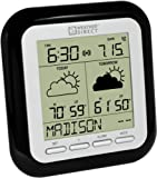 La Crosse Technology Weather Direct WD-2512UR-B 2-Day LITE Internet-Powered Wireless Forecaster