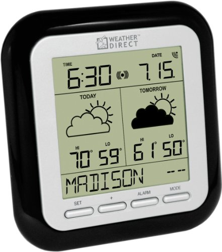 La Crosse Technology Weather Direct WD-2512UR-B 2-Day LITE Internet-Powered Wireless Forecaster (Weather Direct Forecaster compare prices)