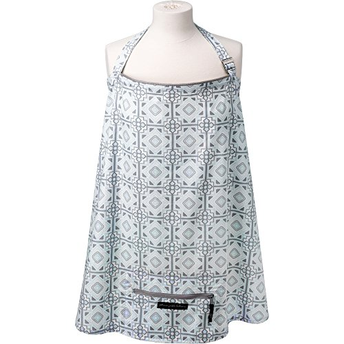 Petunia Pickle Bottom Haven Nursing Cover, Sleepy Seychelles