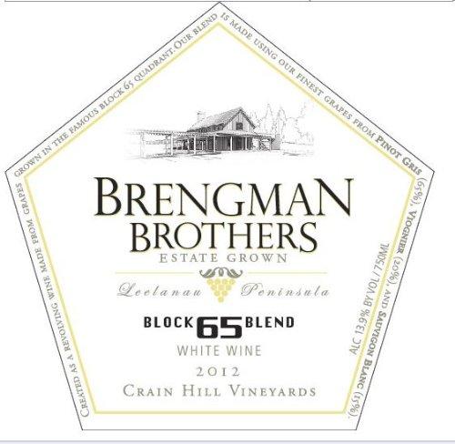 2012 Brengman Brothers Block 65 White Blend 750 Ml