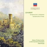 "Schubert : Symphonies n° 8  ""Inachevée"" et n° 9 ""La Grande"""