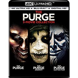 The Purge: 3-Movie Collection [4K Ultra HD + Blu-ray]