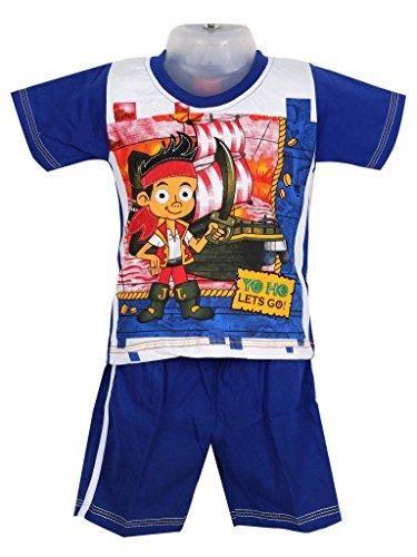 Shinchan Baby Boys Shinchan T-Shirt With Shorts