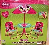 Kids Only Disney Minnie Springtime Garden Party Patio Set
