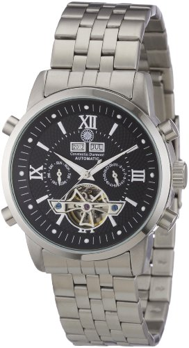 Constantin Durmont Men's Watch Pasadena CD-PASA-AT-ST-STST-BK