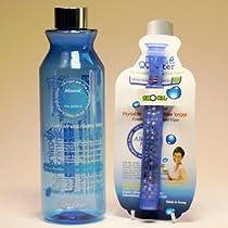 QQ Magic Water Bottle - Premium Portable Alkaline Mineral Water Ionizer (530mL)