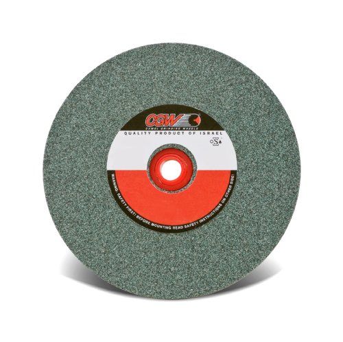 CGW Abrasives - Bench Wheels, Green Silicon Carbide, Carton Pack 6X3/4X1 Gc80-I-V Bench Wheel - Sold as 1 Each