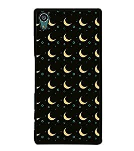 Apricot Half Moon Back Case Cover for SONY XPERIA Z5