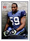 2009 Topps #340 Aaron Curry RC - Seattle Seahawks (RC - Rookie Card) (Football Cards) at Amazon.com