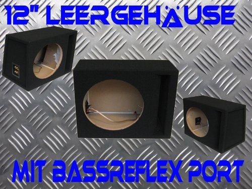 SUBWOOFER LEERGEHÄUSE FÜR 12