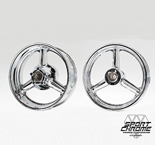 Suzuki Hayabusa Chrome Wheels Rims