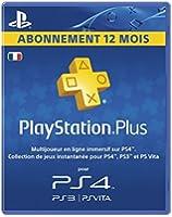 Playstation Plus LiveCards - Abonnement 12 mois