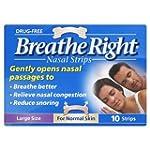 Breathe Right Nasal Srips - 10 Pack -...