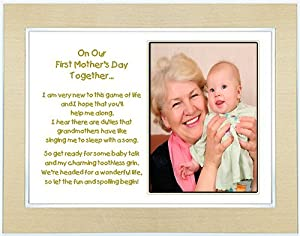 First Mother's Day Gift for Grandmother from Grandchild