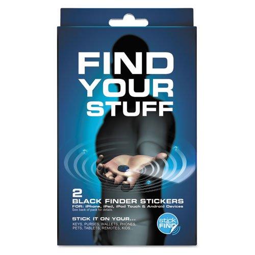 Smead - Smead Stick-N-Find Bluetooth Location Tracker, 2/Pk 02218 (Dmi Pk