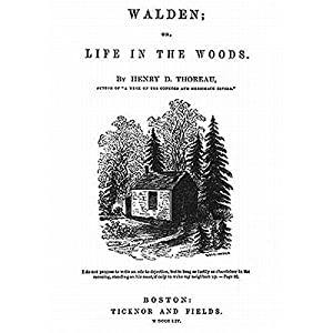 walden or life in the woods essays Walden or, life in the woods is a nonfiction book about thoreau's experience at walden pond, near concord, massachusetts, from july 1845 to september 1847.