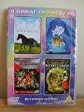 4 Great DVD Movies. Black Beauty - Help I'm A Fish - Trans formers The Movie ( Cartoon ) - Back to the secret garden