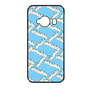 Vibhar printed case back cover for Xiaomi Redmi 2 Rope