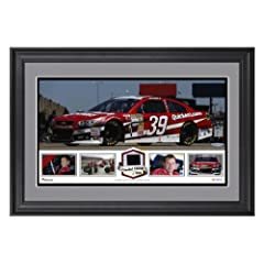 Ryan Newman Framed Panoramic with Race-Used Tire - Limited Edition of 500 - -... by Sports Memorabilia