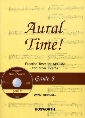 David Turnbull: Aural Time! Practice Tests - Grade 8 (Book/CD)