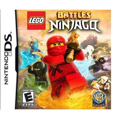 New Warner Bros. Lego Battles Ninjago Strategy Game Complete Product Standard Retail Supports Ds