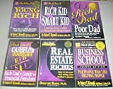 img - for Rich Dad 6 Book Set Contains: Rich Dad Poor Dad, Rich Kid Smart Kid, Retire Young Retire Rich, Real Estate Riches, The Business School Second Edition, Cashflow Quadrant book / textbook / text book