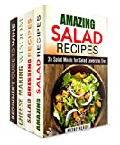 Wine, Cheese, and Salad Box Set (4 in 1): Salad and Salad Dressing Recipes, Plus Cheese and Wine to Pair it With (Wine Guide and Salads)