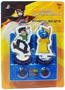 Impulse Kid Krrish Mini Skate Board, Blue