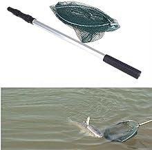 Intellatrust2in1 pesca Salabardo y prorroga plegables poste micromalla con carpa red de pesca