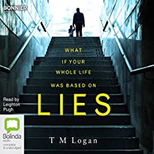 Lies Audiobook by T. M. Logan Narrated by Leighton Pugh