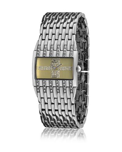 Bassel Reloj con movimiento cuarzo suizo 91003AM Plateado 31  mm