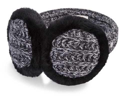 UGG UGG Australia Womens Marled Cardy Wired Earmuff Black Multi