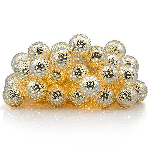 CMYK® con pilas del orbe marroquíes LED Luz de 4,25 m /...