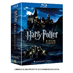 Harry Potter Collezione Completa (8 Blu-Ray)