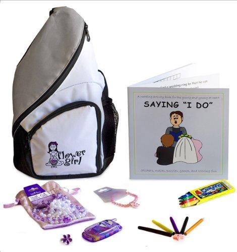 Flower Girl Gift Activity Backpack