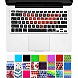 "DHZ® Unique Ultra Thin Durable Keyboard Cover Silicone Skin for MacBook Pro 13"" 15"" 17"" (with or w/out Retina Display) iMac and MacBook Air 13"" (Batman Graffiti)"