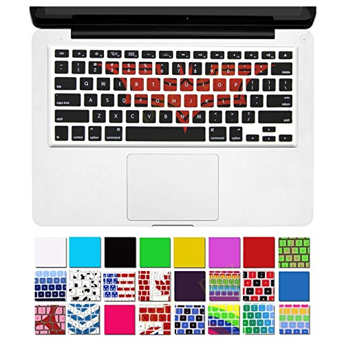 DHZ Ultra Thin Durable Keyboard Silicone Skin Cover for MacBook Pro 13 / 15 / 17-Inch (with or without Retina Display) iMac and MacBook Air 13-Inch
