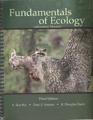 FUNDAMENTALS OF ECOLOGY LABORATORY MANUAL